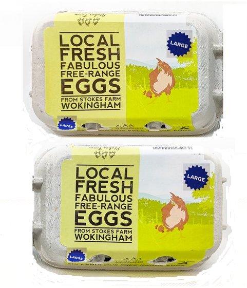 Dozen eggs large